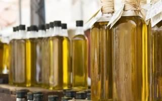Сорта масла растительного