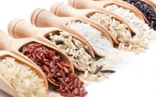 Сорта риса какие бывают